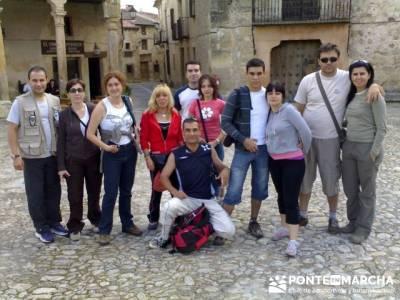 Hoces del Río Duratón - Conocer gente - amistad; canto cochino la pedriza